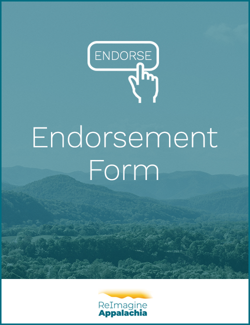 ReImagine Appalachia Endorsement Form