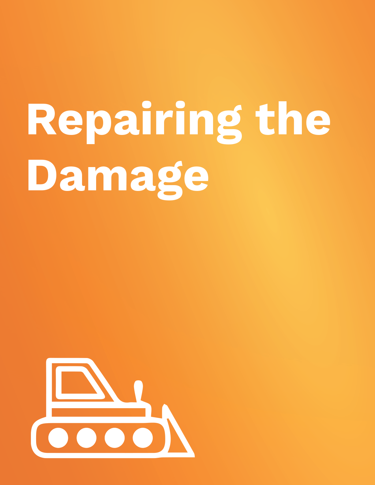 Repairing the Damage